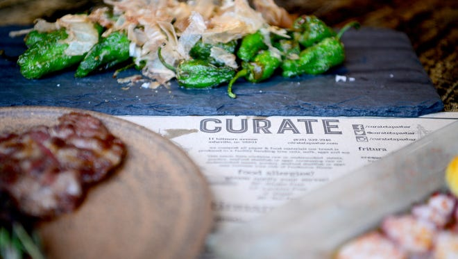 Curate is at 13 Biltmore Ave.