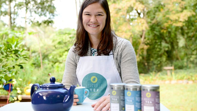 Jessie Dean has started Asheville Tea Company, creating craft tea by working with farmers to source local ingredients and creating hand blends. She is currently selling the tea at local tailgate and farmers markets.
