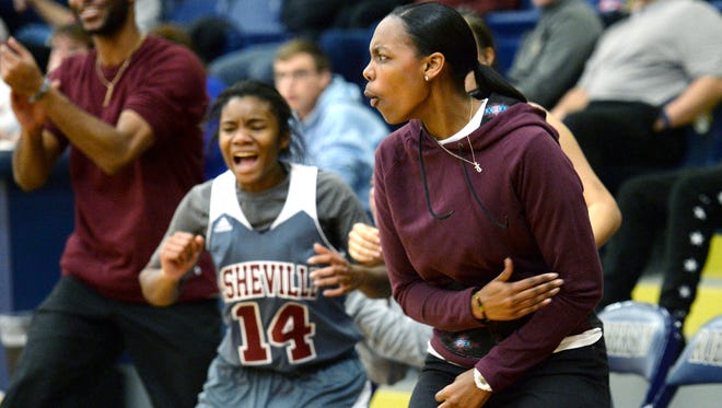 Maria Young has resigned after one season as Asheville High's girls basketball coach.