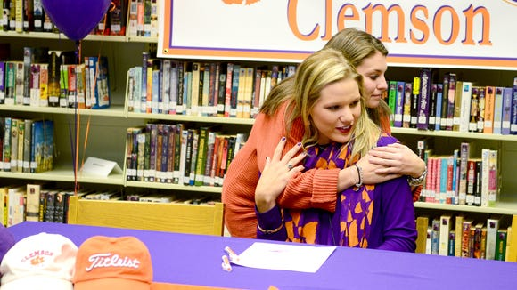 North Buncombe senior Callista Rice has signed to play