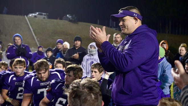 Mitchell football coach Travise Pitman was named the school's new athletic director on Thursday.