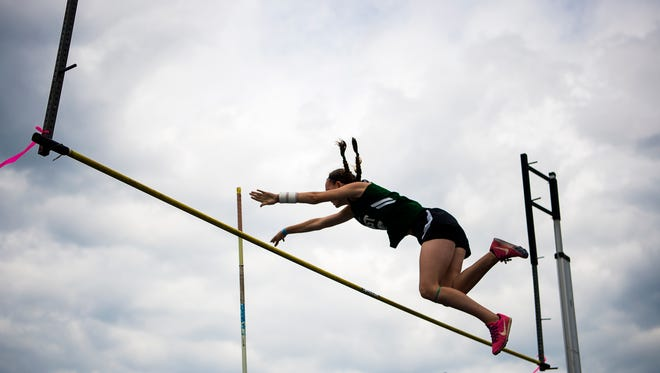 Nearly 50 high schools from WNC and across the southeast competed in track and field events for the 15th annual Blue Ridge Classic Saturday morning April 22, 2017 hosted at A.C. Reynolds.