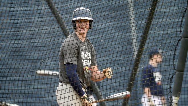 Recent Roberson graduate Garrett Blaylock is playing his summer baseball for the Bristol (Conn.) Blues.