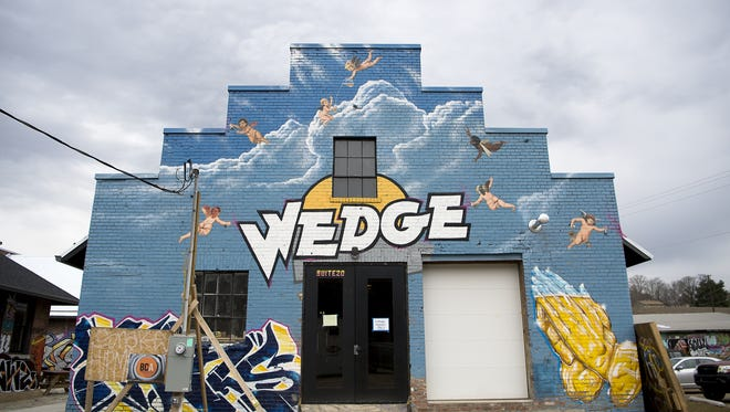 The Wedge's expansion brew house opens Tuesday and is next to 12 Bones' new location in the River Arts District.