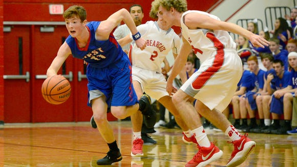 Hendersonville hosted West Henderson in basketball