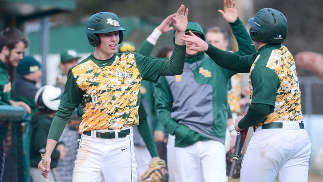 Reynolds hosted Tuscola in baseball at Reynolds High School on Friday, March 23, 2018. The Rockets defeated the Mountaineers 10-0 in five innings.