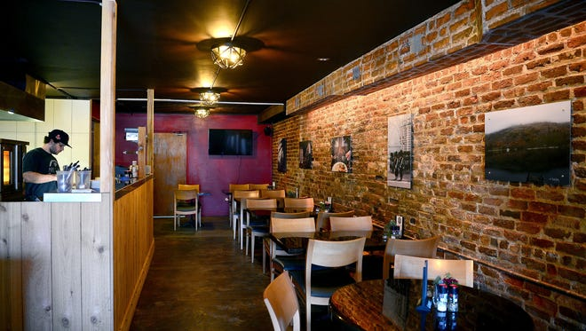 Pete's Pies remodeled the location that once housed Creperie Bouchon to give it a British pub feel.