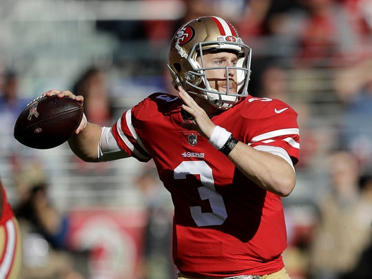 The 49ers are sticking with C.J. Beathard at quarterback after he played well in a Nov. 12 win over the New York Giants.