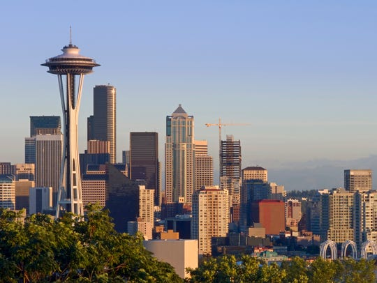 Seattle's Space Needle.
