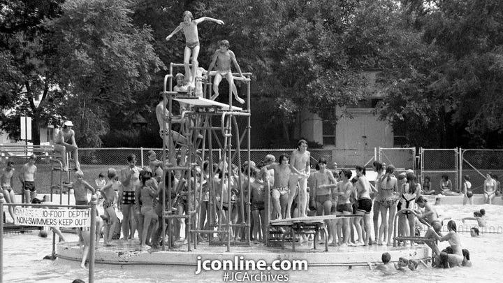 J&C FLASHBACK: Lafayette swimming holes