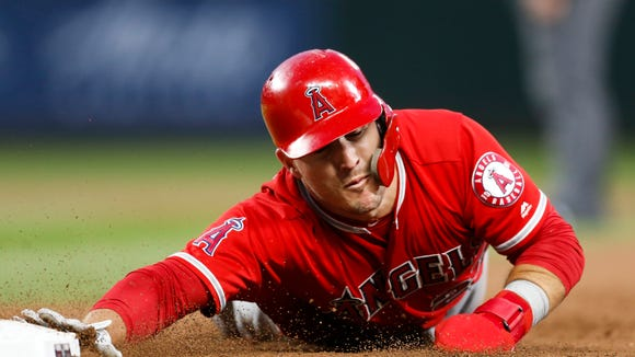 USP MLB: LOS ANGELES ANGELS AT SEATTLE MARINERS S BBA SEA LAA USA WA