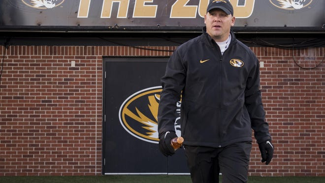 New Missouri football coach Barry Odom has quickly endeared himself to boosters and the Tigers' fan base.