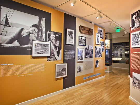 The Catalina Island Museum has an exhibition looking at the relationship of Robert Wagner and Natalie Wood in Catalina. Wood died off of Two Harbors in Catalina.