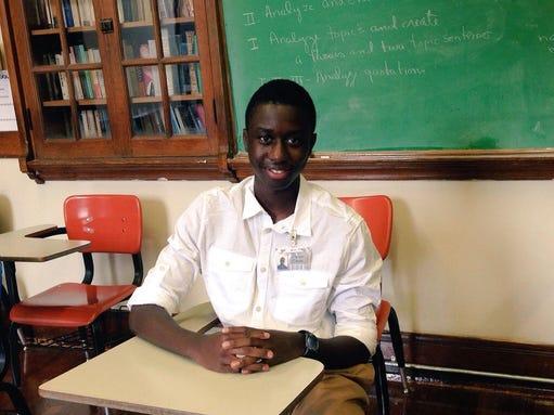Bolton high senior nketiah berko is a semifinalist