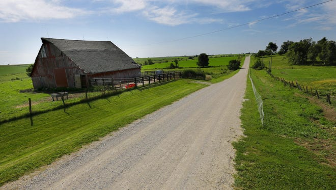 Average Iowa farmland values fell for the third year in a row in 2016 – the first since the 1980s farm crisis. Farmland values dropped nearly 6 percent to $7,183 an acre, according to an Iowa State Univeristy report.