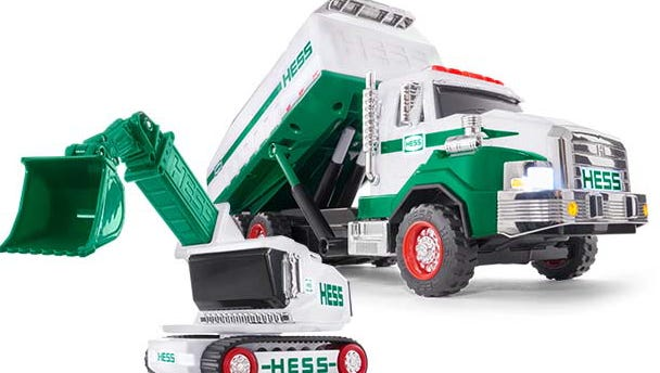 The 2017 Hess Toy Truck is available online. Nov 2, 2017