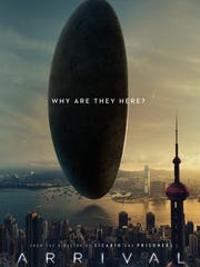 """One of the movie poster designs for """"Arrival."""""""