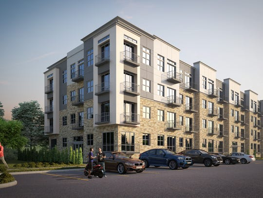 Renderings show the different housing types in the