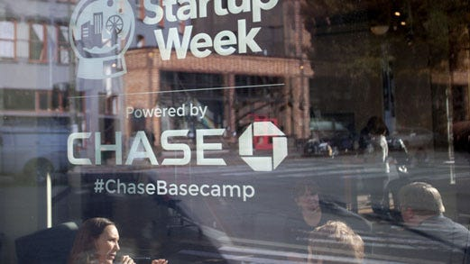 Phoenix Startup Week is one of several sponsored by Chase and Up Global. Others have been held in Seattle, shown here, and Denver.