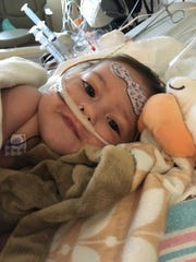 Anderson Moreno is in C.S. Mott Children's Hospital waiting for a new heart.