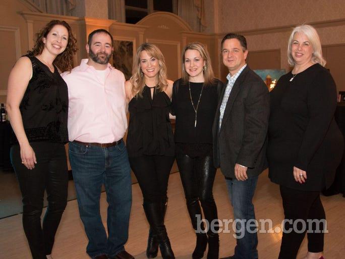 Jennifer Levison, Barnett Goldman, Faith Feder, Staci Klonsky, Paul Sendik, Traci Sachs (Photo by Charlene Wisnewski)