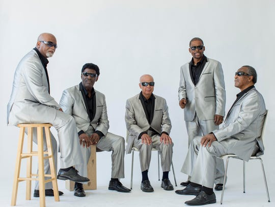 The Blind Boys of Alabama, along with singer Liz Vice,