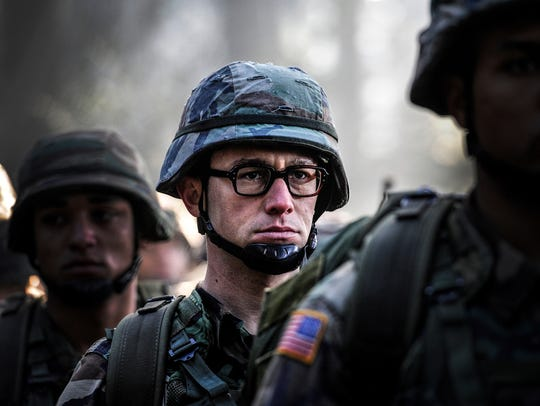 Joseph Gordon-Levitt as Edward Snowden in 'Snowden.'