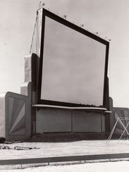 The Sunset Drive-In had a 75-foot screen and could
