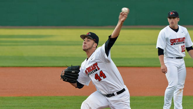 Southeast Missouri ace Joey Lucchesi is considered a gametime against Mississippi State on Friday.