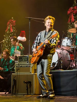 Brian Setzer brings his Christmas Rocks! Tour to Englewood and Montclair.