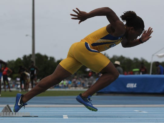 Rickards' Trevor Solomon-Wilson won a state title in