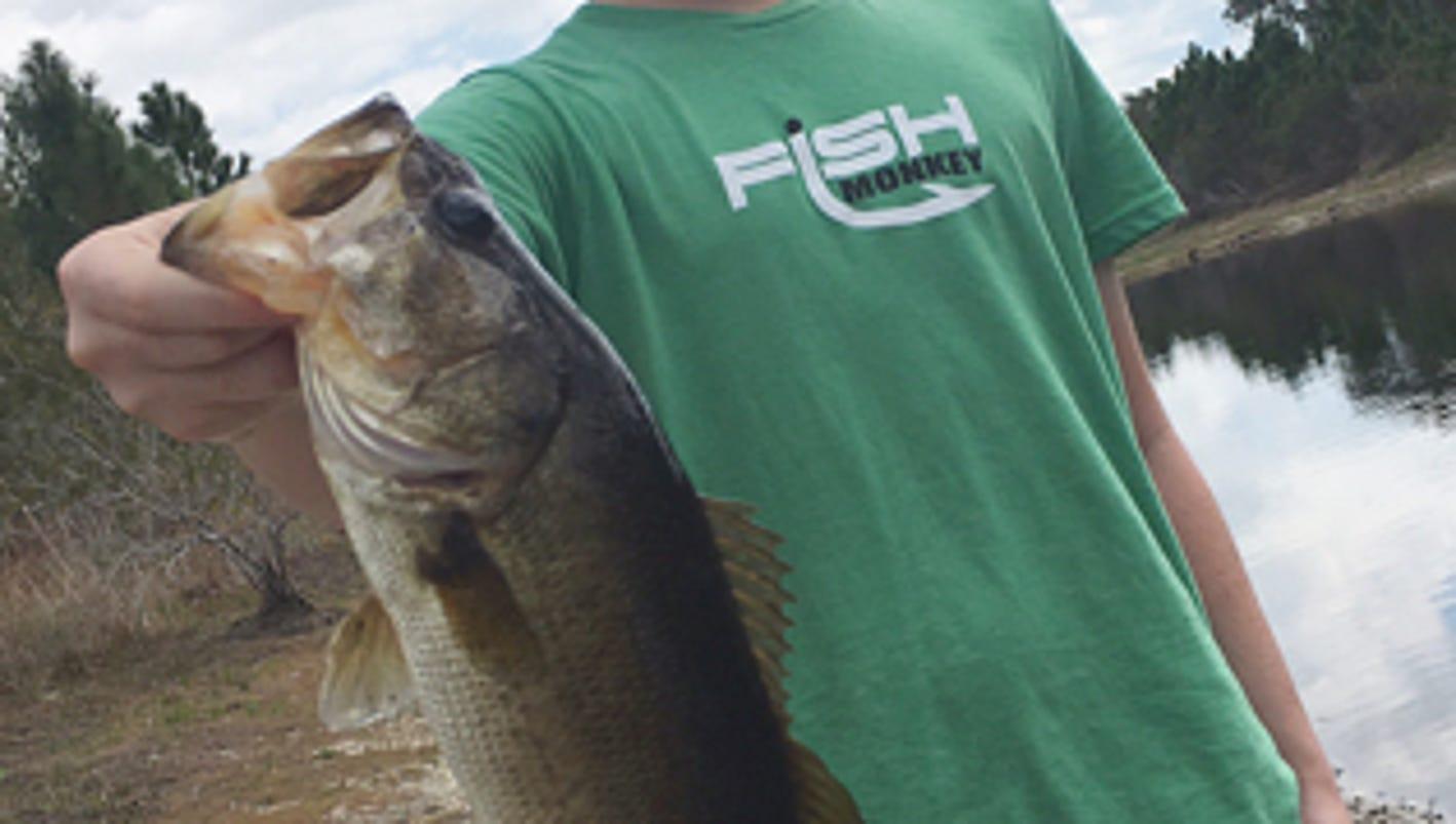treasure coast fishing report bag a backyard bass