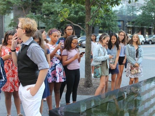 "Basie summer opera camp students visited the Museum Of Jewish Heritage in Manhattan to gain a greater understanding of the history behind ""Brundibar."""
