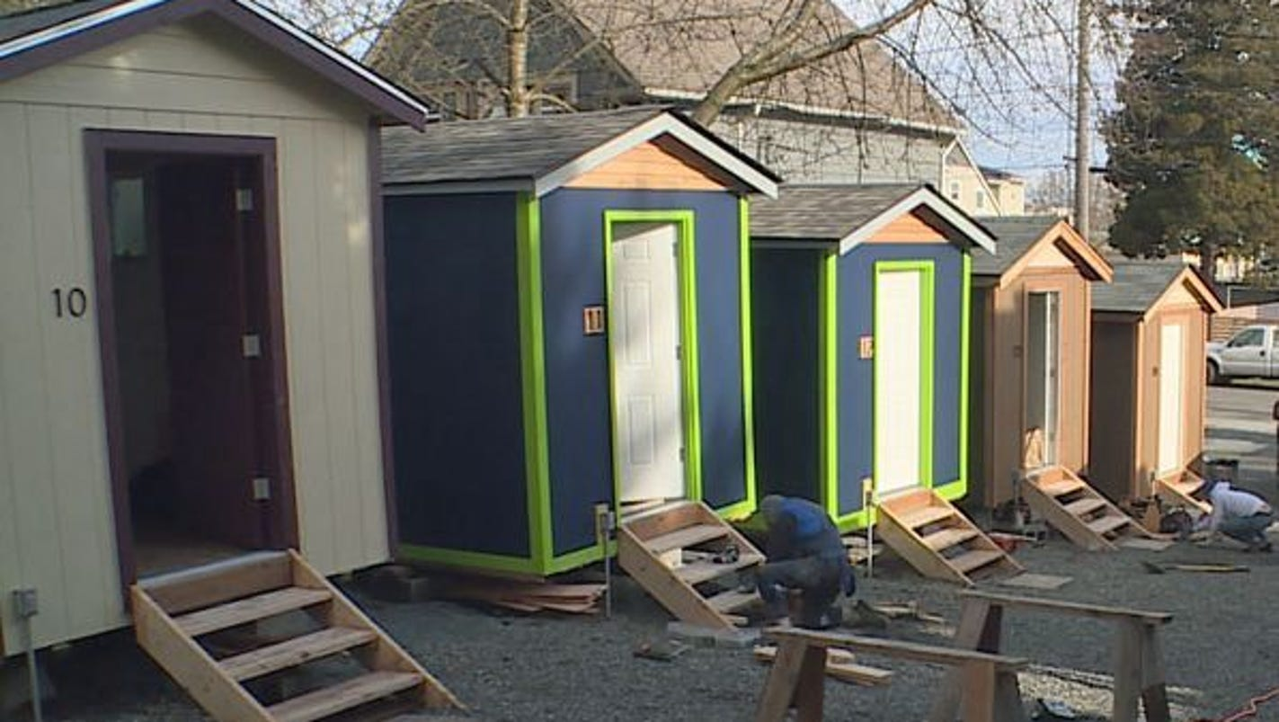 Reno's Tiny House Village For The Homeless Seeks Community
