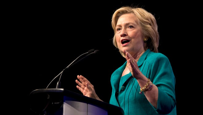 Hillary Clinton speaks before the National Urban League on July 31, 2015, in Fort Lauderdale, Fla.