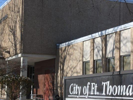 Fort Thomas city building sign.JPG