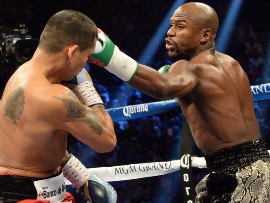 USP Boxing_ Floyd Mayweather vs Marcos Maidana