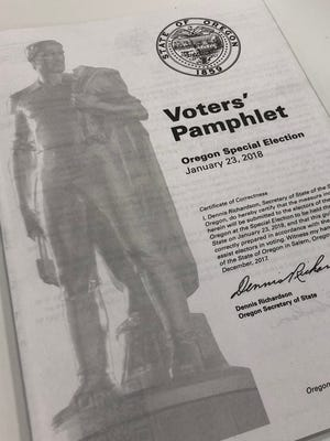 Oregon Voters' Pamphlet