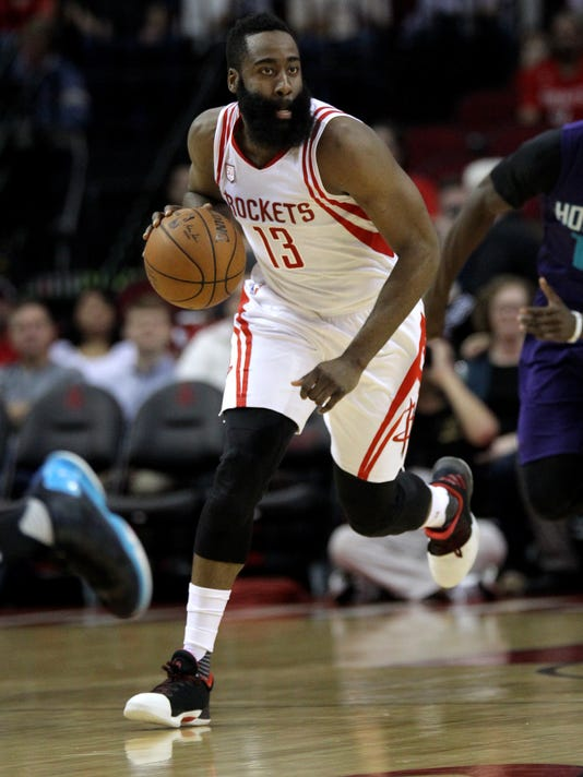 NBA: Charlotte Hornets at Houston Rockets