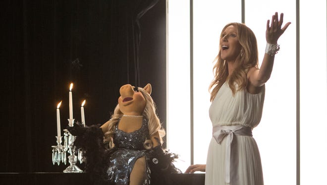 Celine Dion joined Miss Piggy to sing a duet about love and heartbreak.