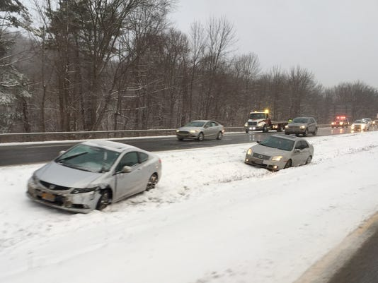 cars off highway
