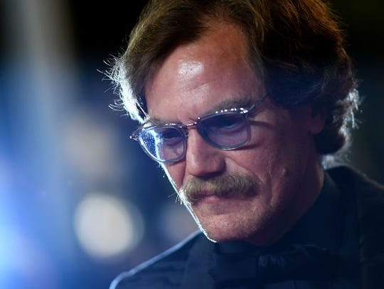 US actor Michael Shannon arrives on May 12, 2018 for