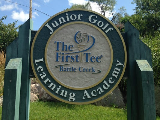 First Tee sign