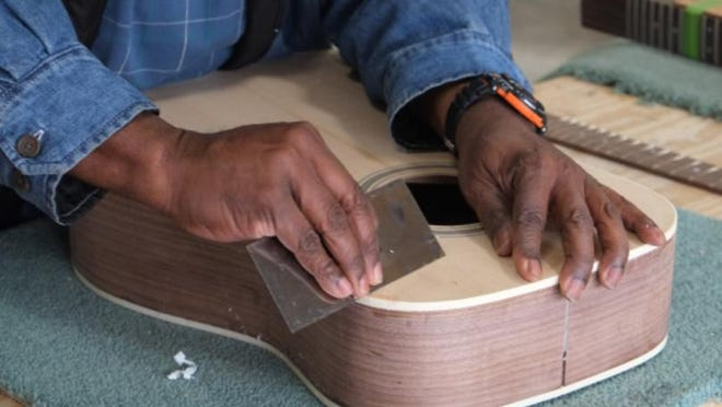 Join experienced woodworker and luthier Bill Sterling in a start-to-finish guitar kit build, which includes everything but the tuners and strings. Beginners are welcome. The course, offered by the Hudson River Maritime Museum in Kingston, will be held from 10 a.m.-4 p.m. on eight Sundays, March 1-April 26. Go to hrmm.org for course costs. {PHOTO PROVIDED BY HUDSON RIVER MARITIME MUSEUM}