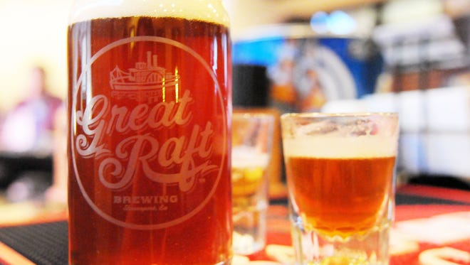 Shreveport's Great Raft Brewing craft beers will become available in Lafayette next week.