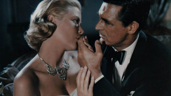 """Grace Kelly and Cary Grant in Alfred Hitchcock's """"To Catch a Thief,"""" which is opening the CAPA Summer Movie Series on Sept. 17."""