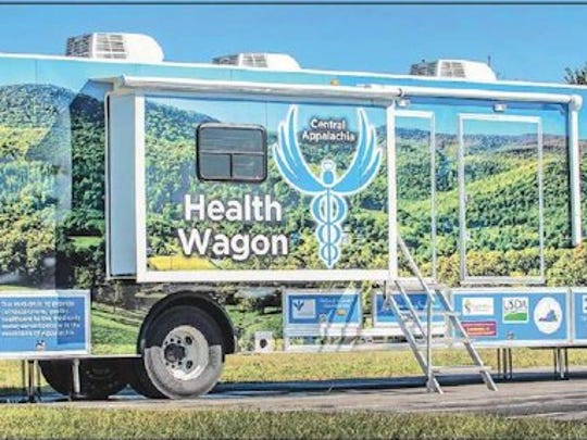 The Health Wagon, a mobile medical care unit that works