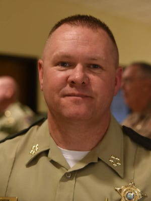 Grundy County Sheriff Clint Shrum received an award.