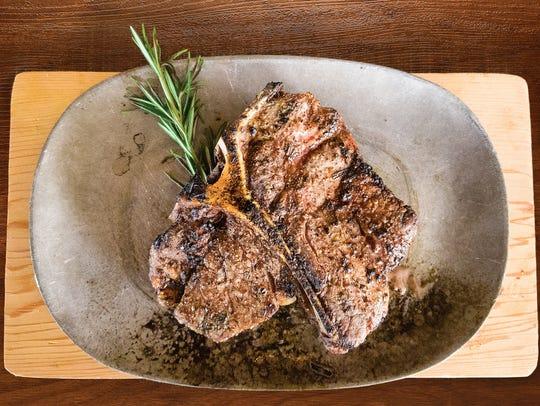 20-ounce Porterhouse steak from Black & Blue Steak