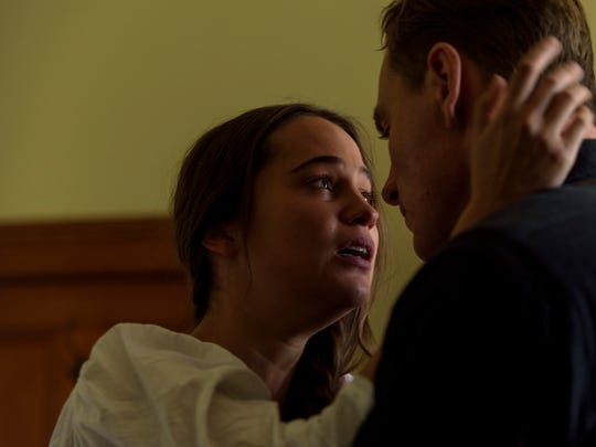 """Alicia Vikander and Michael Fassbender star in """"The"""